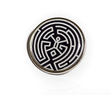 Westworld Inspired Maze 25mm Pin Badge