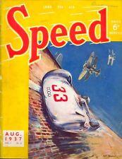 Speed magazine (BRDC) Vol 3 No.26 - August 1937 Hermann Lang Brooklands