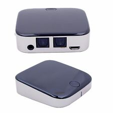 2in1 Bluetooth receptor adaptador dongle transmisor música a2dp aux SPDIF protegido audio estéreo