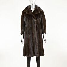 Mahogany Mink 7/8 Coat - Size S