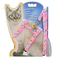 Adjustable Cat Walking Harness Nylon Strap Collar with Leash,And  Cat Harness
