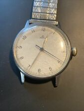 Rare Vintage WWII Military Omega Watch 30T2 SC 16J Movement Keeping Great Time!