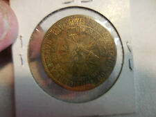 VINTAGE GOLD-TONE $5 HAVERTY HAVERTY'S FURNITURE GOLD STAR CLUB TRADE TOKEN 60'S
