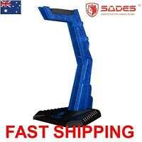 SADES Protect from damage Headset Headphone Stand Universal Blue Free shipping