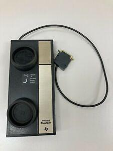 Working Vintage Radio Shack TRS-80 Acoustic Phone Modem