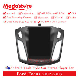 """9.7"""" Android  10.1 Tesla Style  Car Player GPS For Ford Focus 12-17 Head Unit"""