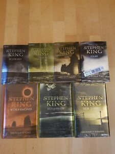 """Steven King Romanzyklus """"Der dunkle Turm"""" 7 von 8 Büchern"""
