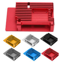 Case for Raspberry Pi Alloy Case with Cooling Fan Heatsinks for Raspberry Pi 4