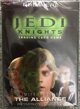 NEW Star Wars Jedi Knights The Alliance Starter Deck SEALED