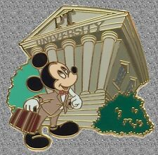 Mickey Pin Trading University - Welcome Gift Pin - Student Mickey  - LE 1500