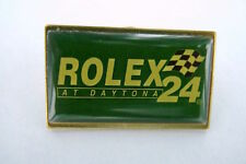 "SCARCE VINTAGE ROLEX "" AT DAYTONA 24 "" BADGE. NEW OLD STOCK, 31MM WIDE. STYLE 1"