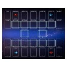 More details for 50x60cm rubber play mat trading card game mat board playmat for yu-gi-oh card