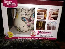 Better Homes & Gardens Accent Warmer Butterflies Wax Warmer