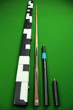 Emperor Series 1 Piece Ash Shaft African Ebony Handmade Snooker Cue Set#S33