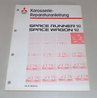 Workshop Manual Mitsubishi Space Runner/Space Wagon Body Year 1992