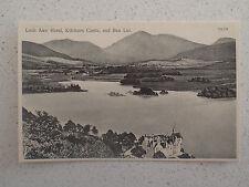 Vintage Postcard - Loch Awe Hotel, Kilchurn Castle, and Ben Lui     (113)