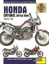 Haynes 6434 Motorcycle Repair Manual Honda Crf1000L Africa Twin (2016 - 19)