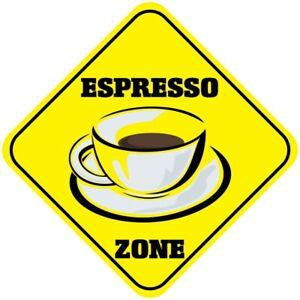 Aluminum Crossing Sign Espresso Zone Cross Xing Style C Diamond Street Signal