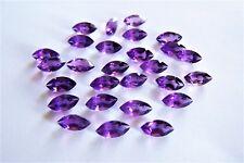 1 Amethyst  Navette Marquise  10 x 5 mm  ca 1,00 Carat  lila violett
