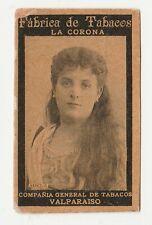 Fabrica de Tabacos La Corona Compania General Tobacco Card Beauties - Adele