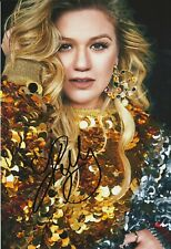 KELLY CLARKSON Autographed signed photo