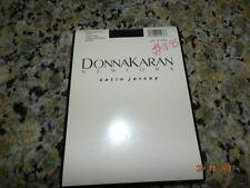 1990 Donna Karan NY Satin Jersey Pantyhose Midnight Navy Style 268 New Small