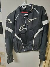 Alpinestars T-GP Plus R Air Motorcycle Jacket - SMALL - Black & White