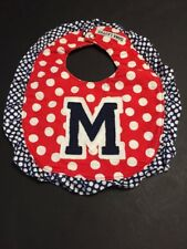 University of Mississippi Rebels Ole Miss Baby Bib Handmade By Dana Lattus
