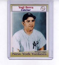 Yogi Berra '51 New York Yankees rare Miller Press limited edition, 200 exist