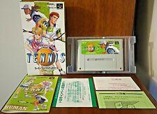 Super Final Match Tennis Nintendo SUPER FAMICOM SFC japonais Japon NTSC-J