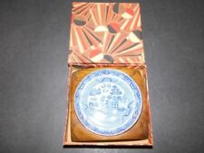 Boxed Blue Vintage Original Pottery