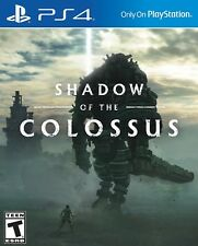 SHADOW OF THE COLOSSUS * PLAYSTATION 4 * BRAND NEW! FREE SHIPPING!