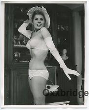 NAJA KARAMURU Latin Burlesque Dancer Nude Model 1960 ORIGINAL 8x10 Photo 1861