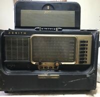 Vintage Zenith B600 Wave Magnet Transoceanic Shortwave Tube Radio-Parts/Repair