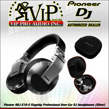 Pioneer HDJ-X10-S Flagship Professional Over-Ear DJ Headphones 5Hz-40Hz (SILVER)