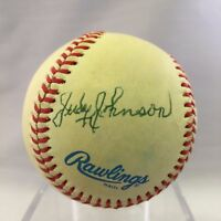 Judy Johnson Signed Autographed American League Baseball JSA COA #N69214