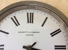 More details for impressive ships clock by negretti & zambra, london.....case only, rare.