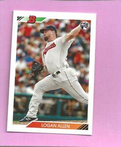 2020 Bowman Heritage Logan Allen RC #35 Cleveland Indians