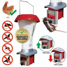 Rat Proof Chicken Feeder Kit - Vermin Proof Poultry Feeder PestOff - NEW PRODUCT