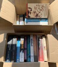 Assorted 10x Fiction Books, Paperback & Hardback Bulk, Various Genres Joblot