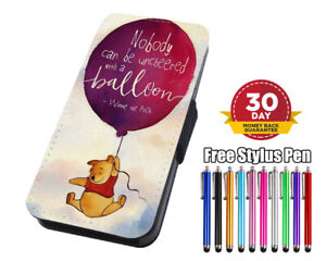Winnie The Pooh Disney  Flip Leather Phone Case for iPhone Samsung Huawei