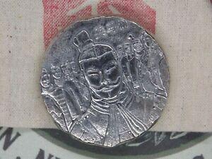 2018 $2 Fiji 5oz Silver .999 Terracotta Army BU Antiqued Coin #CF   ECC&C, Inc.