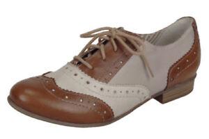 Remonte R4809 Brown Ladies Lace Up Shoes EU Sizes 36, 39, 40