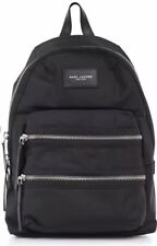 Black Marc Jacobs Rucksack Backpack Bag Zip Pockets
