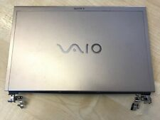 Sony VAIO VGN-TZ VGN-TZ21MN PCG-4L2M Top Lid LCD Rear Cover + Hinges