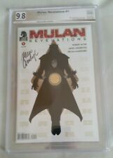 "Mulan: Revelations #1 (Jun 2015, Dark Horse) PGX 9.8 NM/MT ""signature' w/COA"