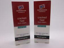 Neutrogena Cracked Heel Foot Cream Intense Repair 40ml x2 tubes £8 SCHOLL
