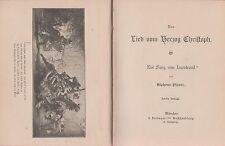 Alphons Planer: Lied vom Herzog Christoph - Ein Sang vom Isarstrand   (um 1900)