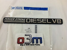 2001-2003 Ford Super Duty Power Stroke V8 driver or passenger Fender Emblem OEM
