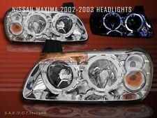 2002 2003 MAXIMA CRYSTAL HALO HEADLIGHTS
